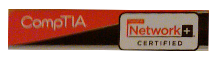 CompTIA Network+ certiifed