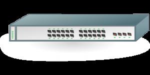 Commutateur d'accès au réseau pour les usagers