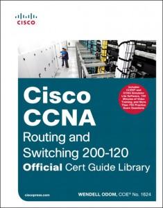 Couverture du livre officiel pour la certification Cisco CCNA