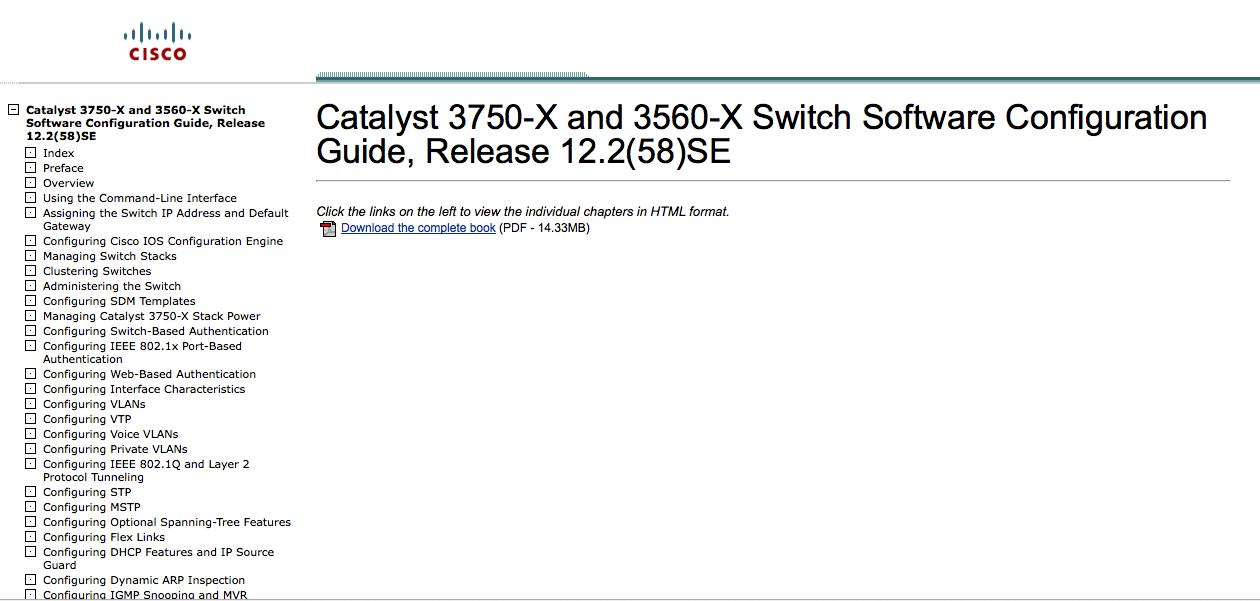 Configuration Guide pour les commutateurs Cisco Catalyst