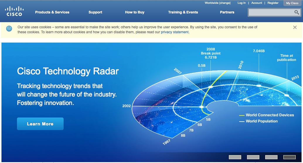 Site web officiel Cisco.com