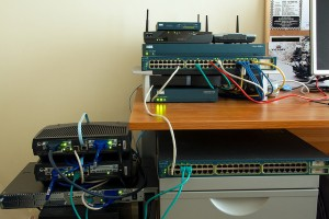 Cisco Home Lab Example